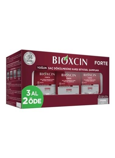 Bioxcin Bioxcin 3'Lü Paket Forte Şampuan 300 Ml Renksiz